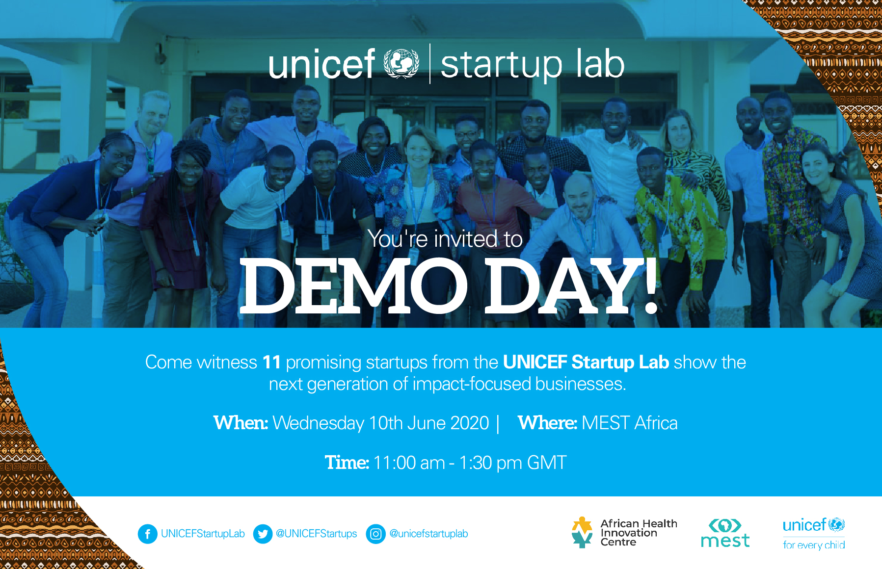 UNICEF DEMO DAY