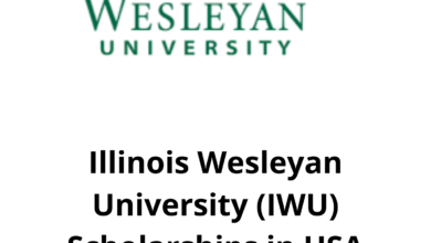 Photo of Illinois Wesleyan University (IWU) Scholarship in USA 2021 – Funded