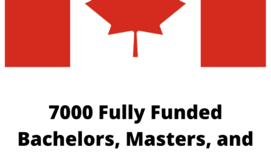 Photo of 7000 Fully Funded Bachelors, Masters, and Ph.D. Scholarships In Canada 2021