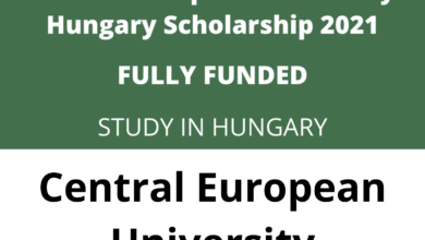 Photo of Central European University Scholarships in Hungary 2021 – Fully Funded