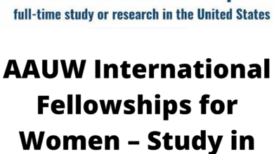 Photo of AAUW International Fellowships for Women – Study in the USA for up to $30,000 funding.