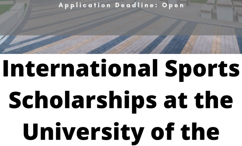 International Sports Scholarships at the University of the West of England, Bristol - Funded