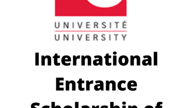 Photo of International Entrance Scholarship of Distinction 2020 in Canada
