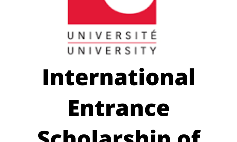 International Entrance Scholarship of Distinction 2020 in Canada