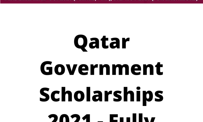 Qatar Government Scholarships