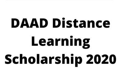 Photo of DAAD Distance Learning Scholarship 2020 Germany – Funded