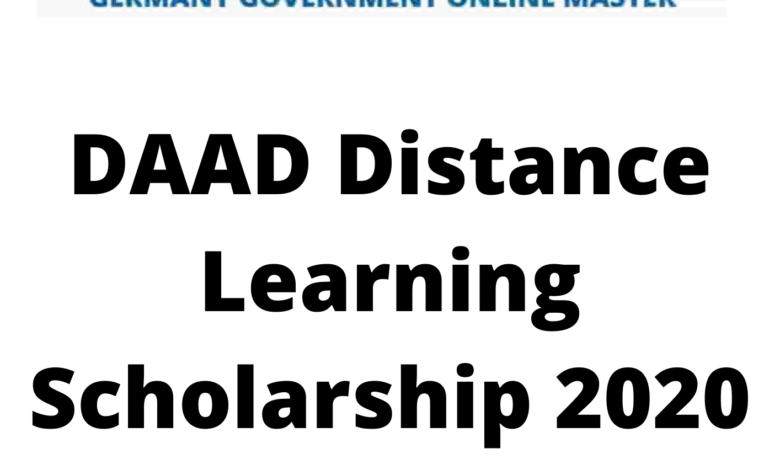 DAAD Distance Learning Scholarship 2020 Germany - Funded