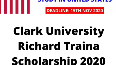 Photo of Clark University Richard Traina Scholarship 2020 in the United States