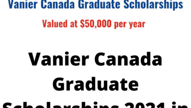 Photo of Vanier Canada Graduate Scholarships 2021 in Canada – Fully Funded