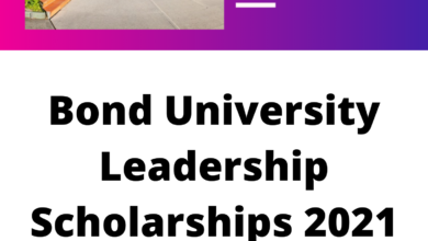 Photo of Bond University Leadership Scholarships 2021 in Australia – Funded