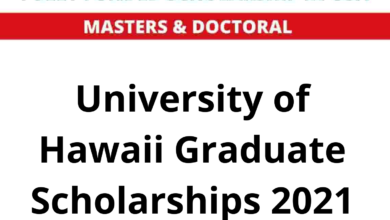 Photo of University of Hawaii Graduate Scholarships 2021 in the USA – Fully Funded
