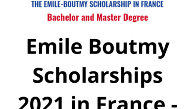 Photo of Emile Boutmy Scholarships 2021 in France – Funded