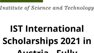 Photo of IST International Scholarships 2021 in Austria – Fully Funded