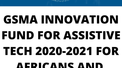 Photo of GSMA INNOVATION FUND FOR ASSISTIVE TECH 2020-2021 FOR AFRICANS AND  ASIANS – FUNDED