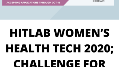 Photo of HITLAB WOMEN'S HEALTH TECH 2020; CHALLENGE FOR INNOVATORS – FUNDED