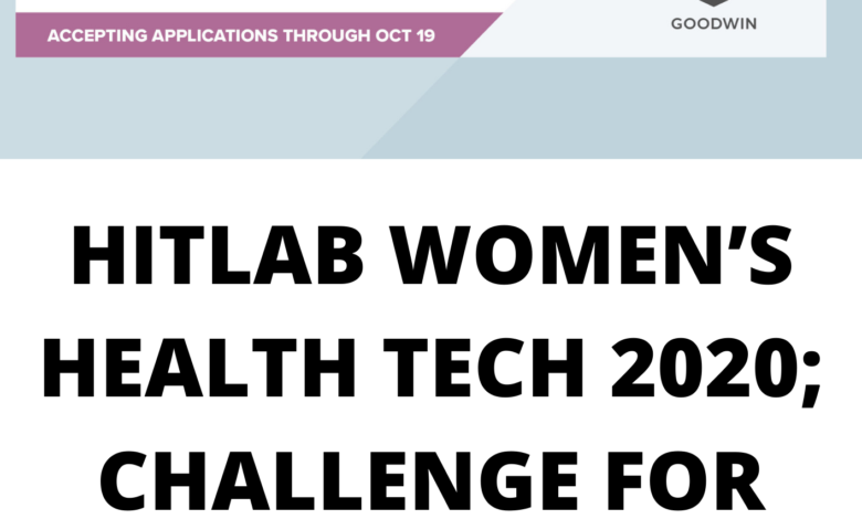 HITLAB WOMEN'S HEALTH TECH 2020; CHALLENGE FOR INNOVATORS - FUNDED