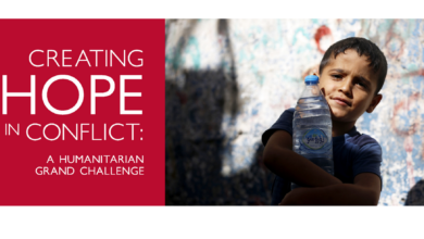 Photo of Creating Hope in Conflict: A Humanitarian Grand Challenge