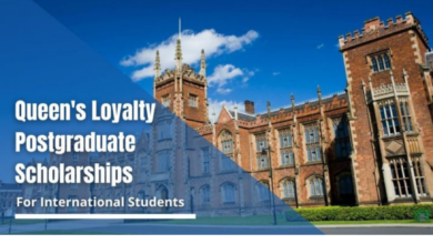 Photo of Queen's University Belfast Loyalty postgraduate placements for International Students in UK, 2021