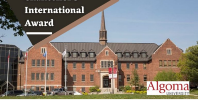 Photo of Chancellor's Award for International Students at Algoma University in Canada, 2020