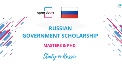 Photo of Open Doors Russian Government Scholarships 2021 – Funded