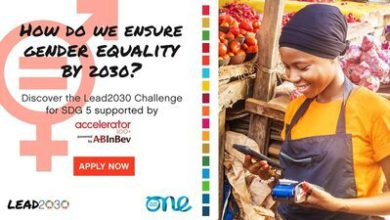 Photo of One Young World/ABinBev Lead2030 SDG 5 Challenge 2020 For Female-Led Organizations – Fully Funded to OYW Summit 2021 in Germany