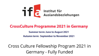Photo of Cross Culture Fellowship Program 2021 in Germany – Fully Funded