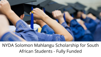 Photo of NYDA Solomon Mahlangu Scholarship for South African Students – Fully Funded