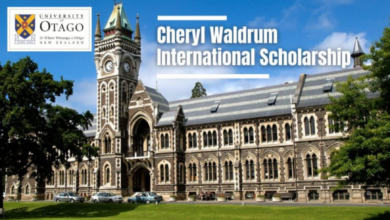Photo of University of Otago Cheryl Waldrum International Scholarship in New Zealand, 2021