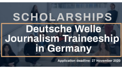 Photo of DW Akademie Journalism Traineeship in Germany 2021 – Fully Funded
