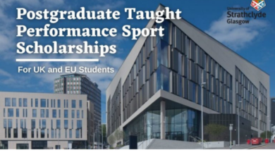 Photo of Postgraduate Taught Performance Sport Scholarship for UK and EU Students in the UK