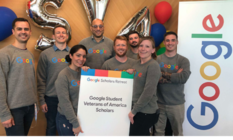 2021 Google-SVA funding for Student Veterans in Computer Science in the USA