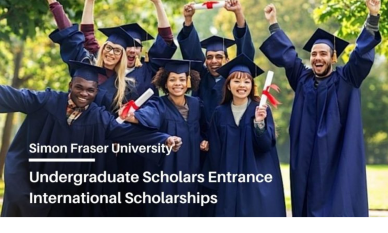Undergraduate Scholars Entrance international scholarship at Simon Fraser University 2021