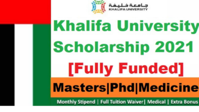 Photo of Khalifa University Graduate Scholarship 2021 in UAE – Fully Funded