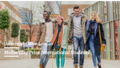 Photo of Mollie Clay Prize At The University of West London in the UK