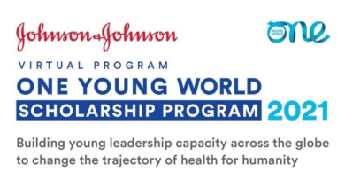 Photo of Johnson & Johnson | One Young World | Virtual Scholarship Program 2021
