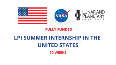 Photo of NASA LPI Summer Internship Program 2021 in the USA – Fully Funded