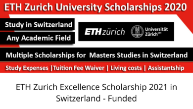 Photo of ETH Zurich Excellence Scholarship 2021 in Switzerland – Funded
