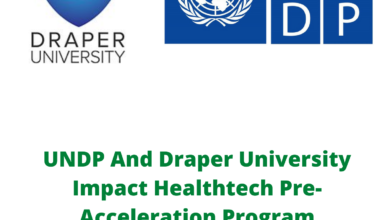 Photo of UNDP And Draper University Impact Healthtech Pre-Acceleration Program