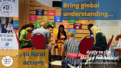 Photo of 2021 Melton Foundation Global Citizenship Fellowship Program for Young Global Leaders