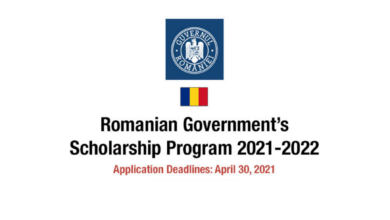 Photo of Romanian Government Scholarship 2021 – Fully Funded