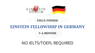 Photo of Einstein Forum Fellowship 2021 in Germany – Fully Funded