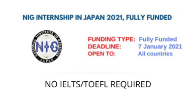 Photo of NIG Summer Internship Program 2021 in Japan – Fully Funded