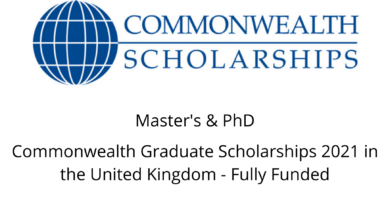 Photo of Commonwealth Graduate Scholarships 2021 in the United Kingdom – Fully Funded