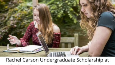 Photo of Rachel Carson Undergraduate Scholarship at Chatham University in the USA – Full Tuition