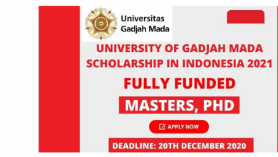 Photo of Gadjah Mada International Fellowship 2021 in Indonesia – Fully Funded