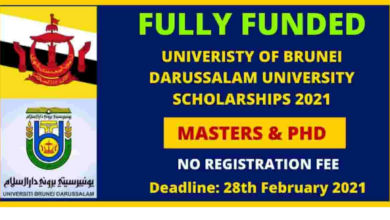 Photo of University of Brunei Darussalam Scholarship 2021 in Brunei – Fully Funded
