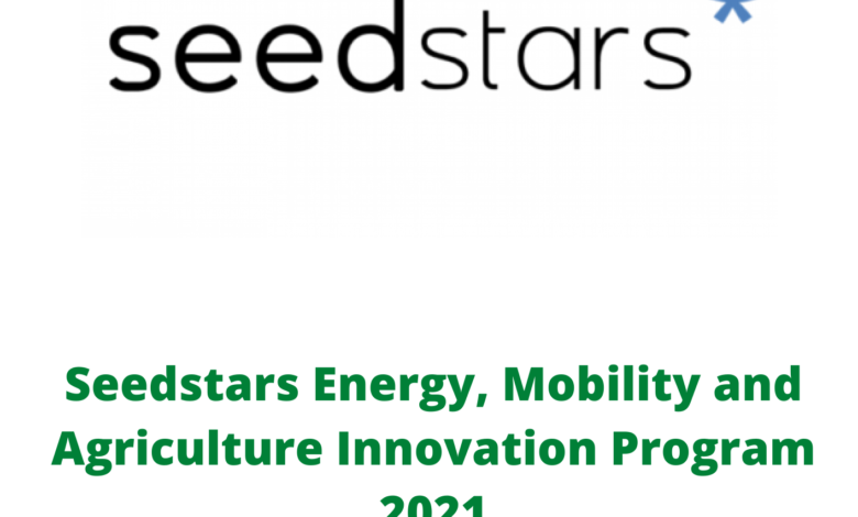 Seedstars Energy, Mobility and Agriculture Innovation Program 2021