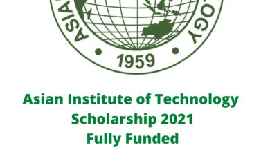 Photo of Asian Institute of Technology  Scholarship 2021 – Fully Funded