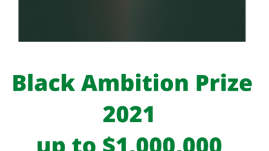 Photo of Black Ambition Prize 2021 – up to $1,000,000 in funding