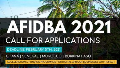 Photo of AFIDBA Accelerator 2021 – Call for Applications